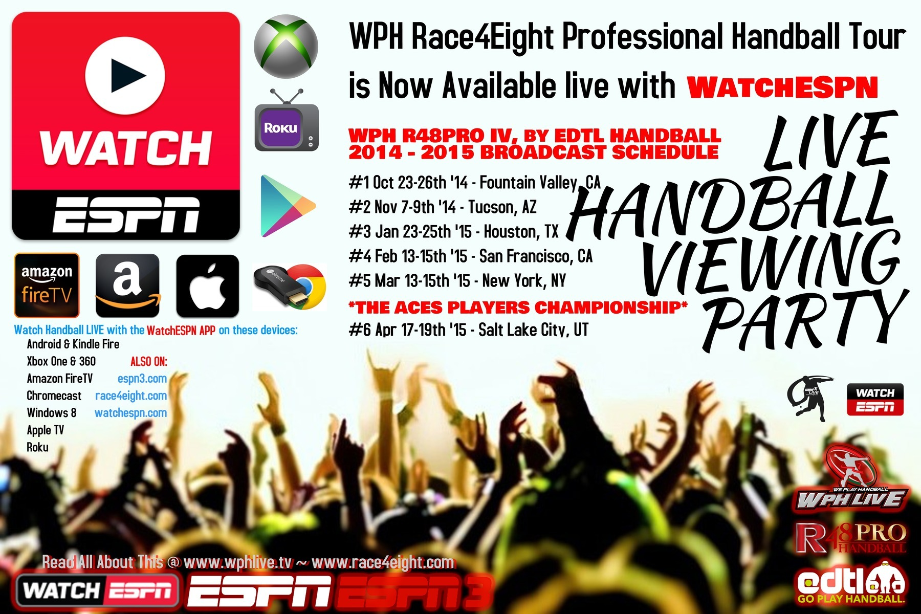 WPH R48Pro This Weekend in Houston – Watch Live on ESPN