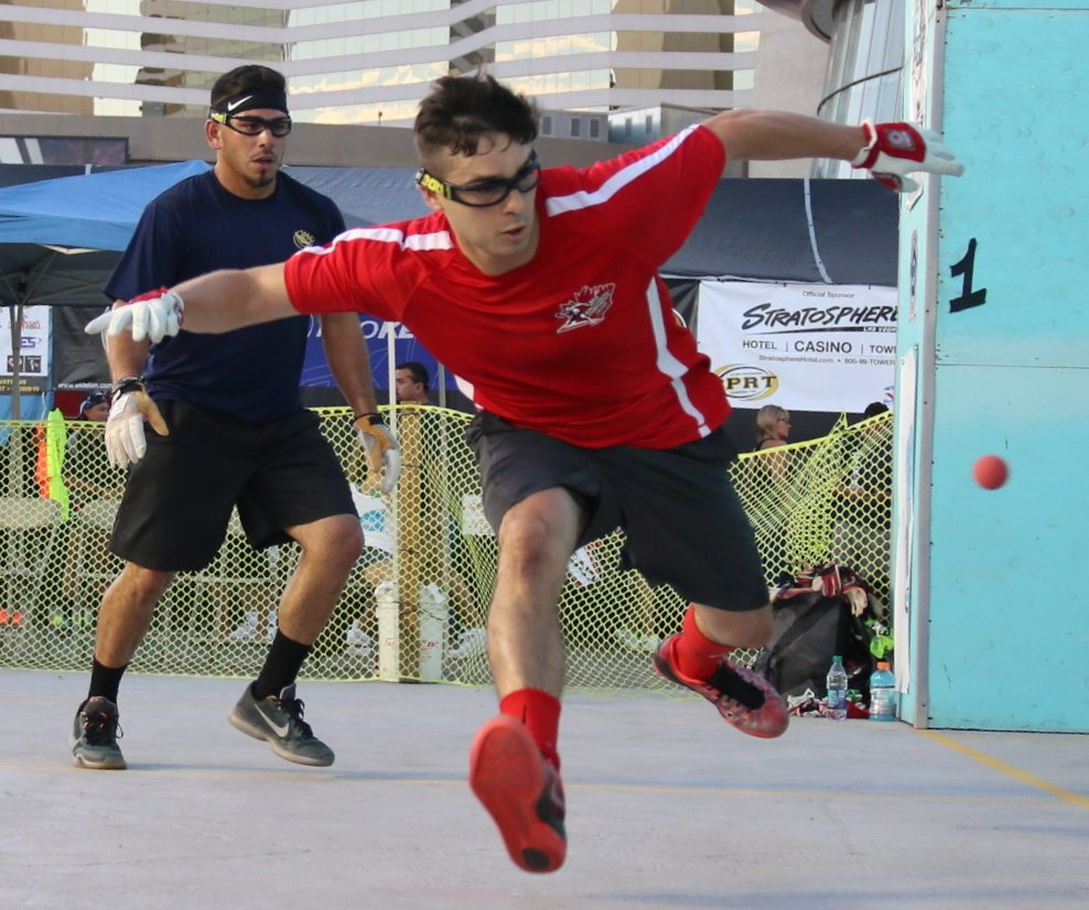 Saturday at the WPH/WOR 3WallBall Outdoor World ...