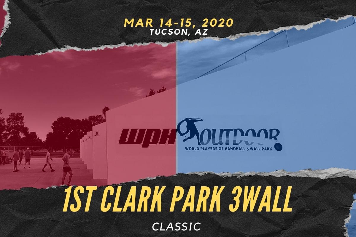 1st Clark Park 3 Wall Classic Mar 14 15 20 Tucson Az